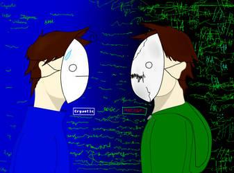 Cry vs. MadCry by DaringTiger