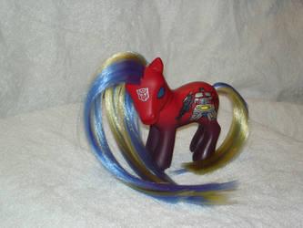 Optimus Pony by Jazzycrow