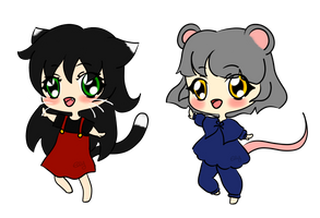 Cat and Mouse Adopts (Closed) by 404Redacted