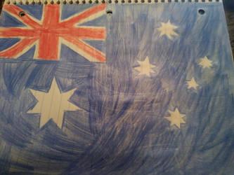 Australian Flag by Light-Blue-Chan