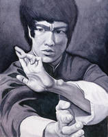 Bruce Lee by Beowulf-Kennedy