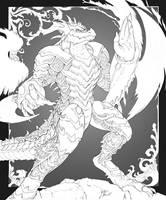 Koda, King of Dragons by Beowulf-Kennedy