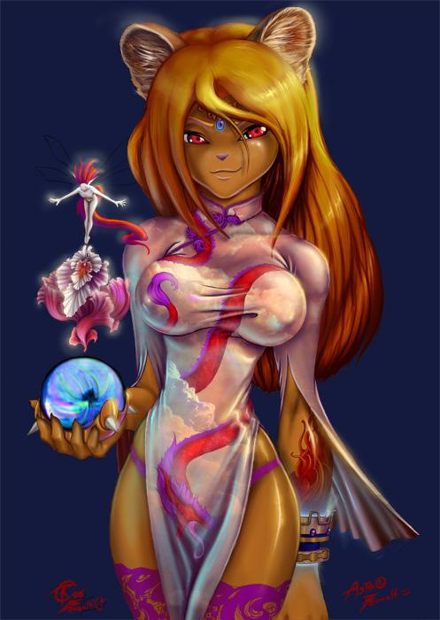 Asta, High Priestess by Beowulf-Kennedy