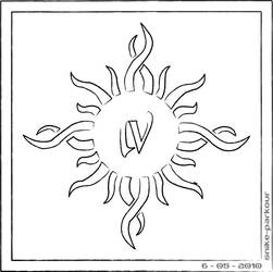 Godsmack logo outline by snike-parkour