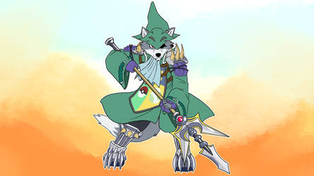 Wolf O'Donnell - Job System - Dragoon by TheSoraKid