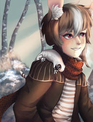 Snowy Day by Andreia-Chan