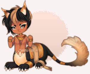 Cat Centaur Adoptable [CLOSED] by Andreia-Chan