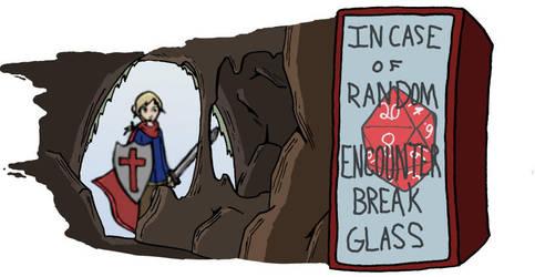In Case of Random Encounter by SergeXIII