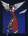 Valkyrie Doodle Jan 2010 by SergeXIII