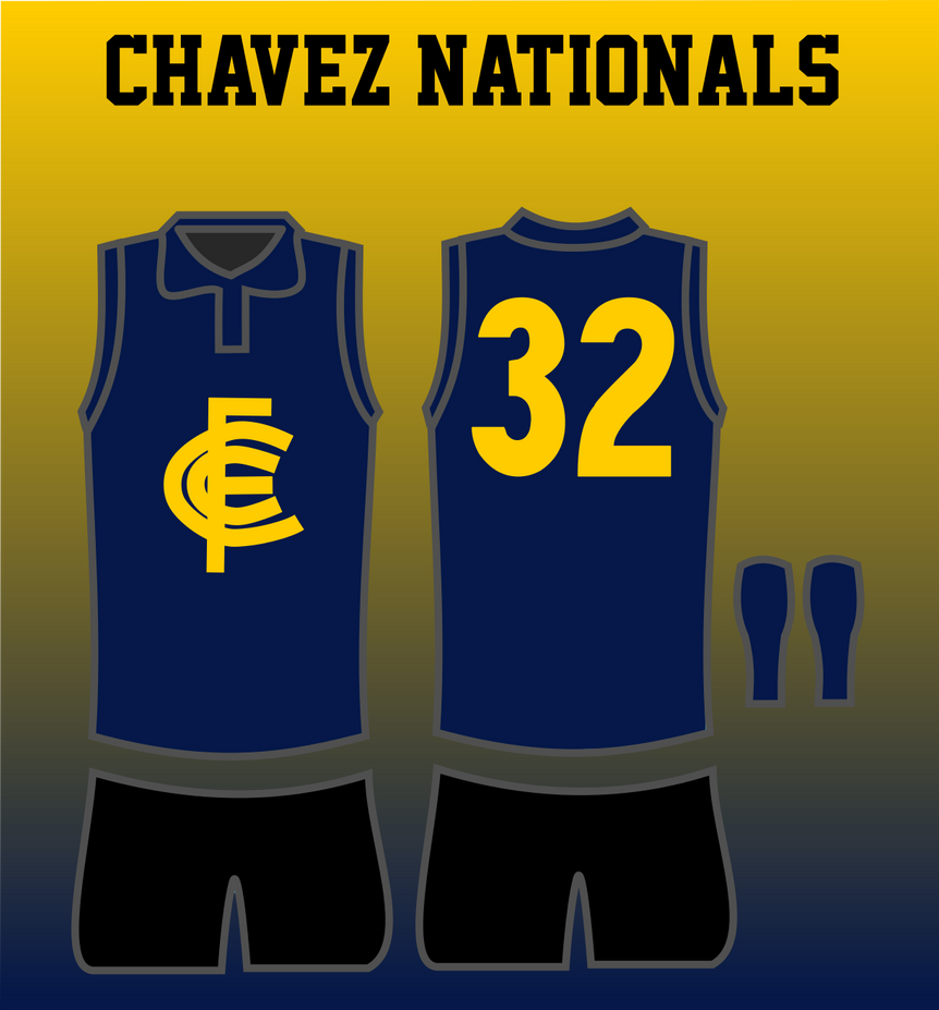 Chavez Nationals 1946 Jumper by TGArtworks