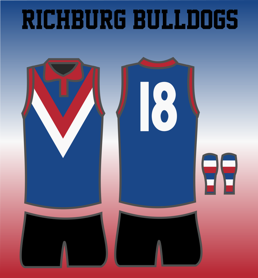 Richburg Bulldogs 1946 Jumper by TGArtworks