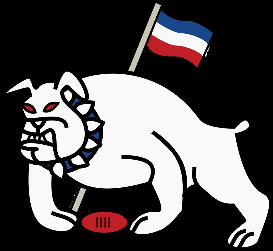 Richburg Bulldogs 1946 Logo Mk II by TGArtworks