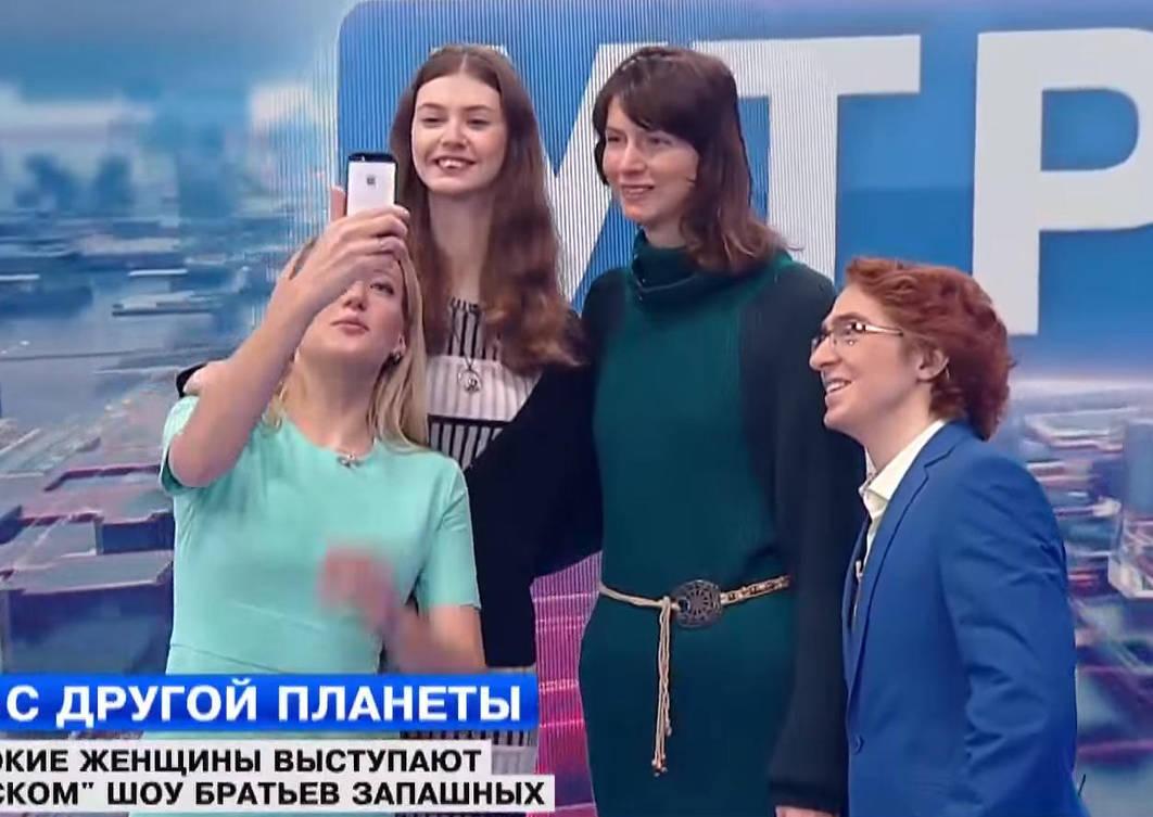 Titchenko Sisters Selfie By Zaratustraelsabio On Deviantart