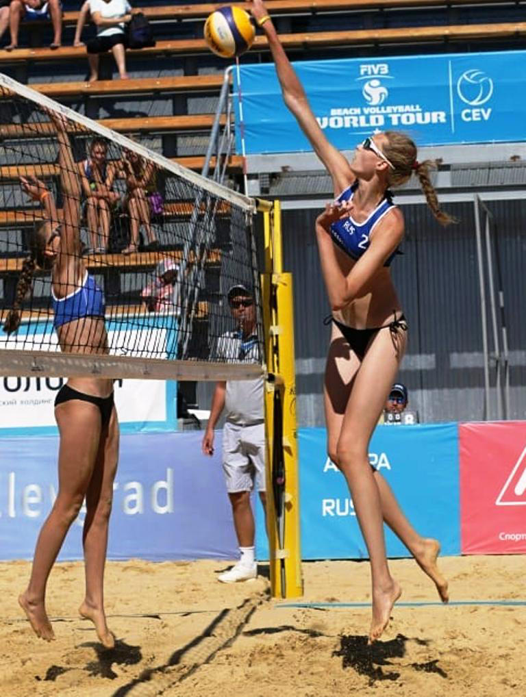210cm Maria in Worldcup Beach volley by zaratustraelsabio