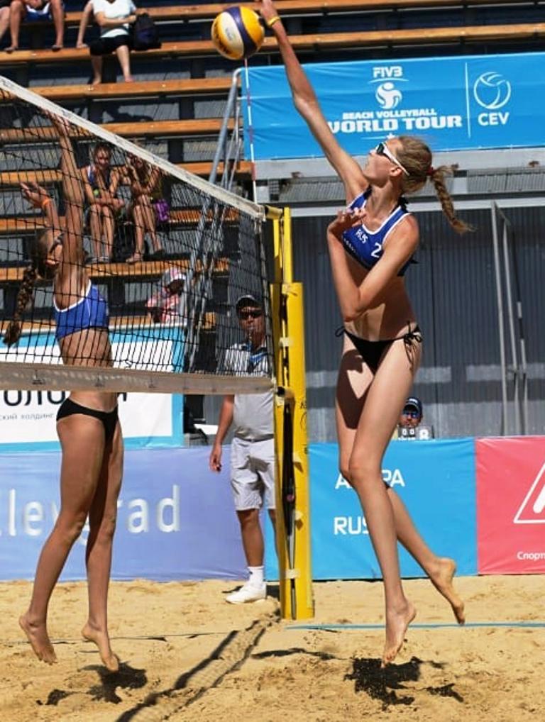 210cm Maria in Worldcup Beach volley by zaratustraelsabio