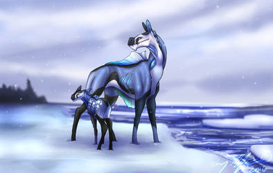 Bluefin Charger Family by Aki-san24