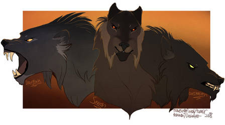 Wolves of Angband by Rohavon