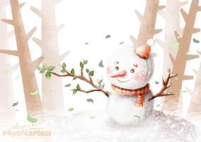 autumn winter by papercaptain