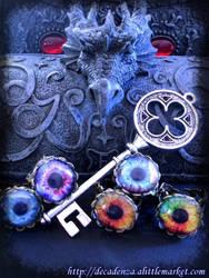 bagues -rings- Steampunk by midnightbreath