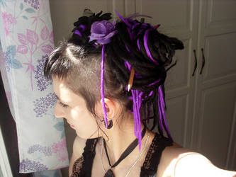 new hair... by midnightbreath