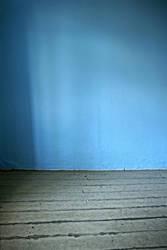 blue room with shadows by stocksbyannaforyou