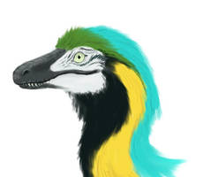 Fabulous Deinonychus by Melyon