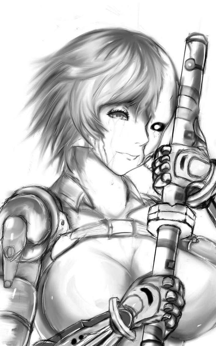 alpha - vainglory fanart (color ver later) by tyrant291 ...