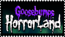 Goosebumps HorrorLand stamp purple by SilverGriffinflare