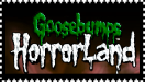 Goosebumps HorrorLand stamp green by SilverGriffinflare