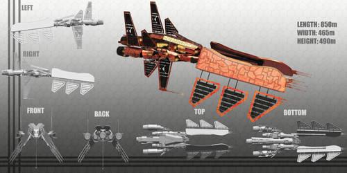 Minmatar Battleship by Kiwi-the-One