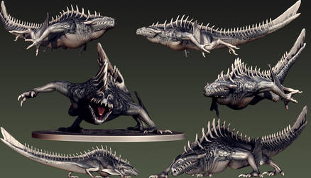 Rift - Water Colossus Concept by Kiwi-the-One