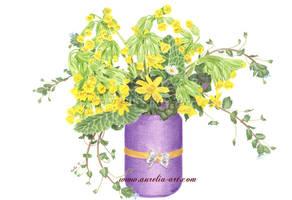 Spring Bouquet by aurelia-acc