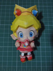 Baby Peach papercraft by bslirabsl