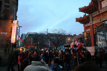 Chinese New Year Celebrations Manchester 2014 B by angelface888