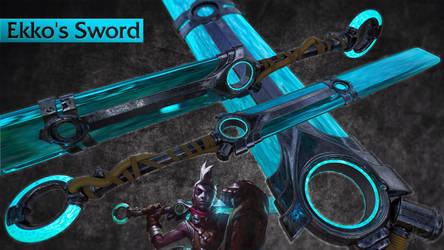 Ekko's Sword - Finished by MasterPrior