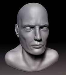 Male Head Study by MasterPrior