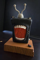 Little Angry TV... for jess by MrIPPI