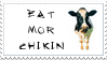 Eat Mor Chikin by CatherineHH