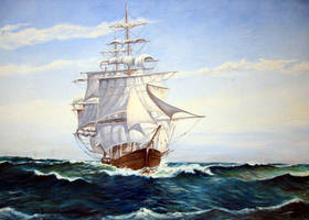 My First Clipper Ship by Flaven