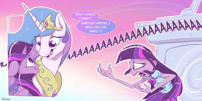 Trouble Adjusting by Dilarus
