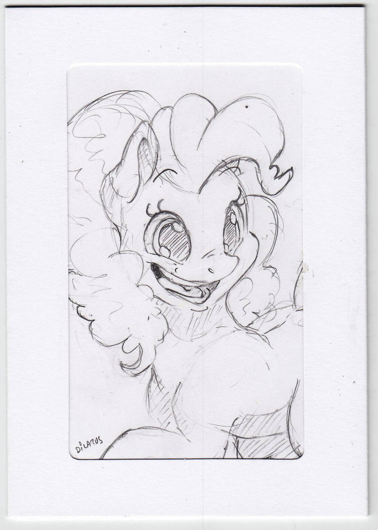 Pinkie Pie - gift card by Dilarus