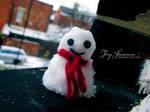 Tiny Snowman by OmarAziz