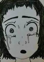 anime girl by Zelteen