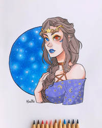 Starry Witch by Kleoite