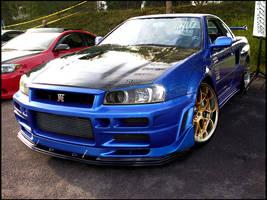 Nissan Skyline R34 GTR by basic-designs