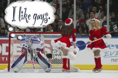 Lundqvist hates Ice Girls by threedeez