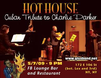 Hot House Postcard by threedeez