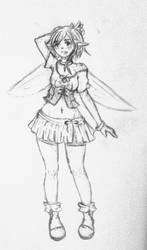 Aelina - Random Doodle by Miss-Strawberrii
