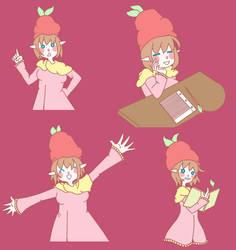 Blog Mascot by Miss-Strawberrii