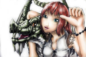 RE: Girl And Dragon by lordless
